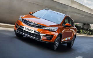 Кросс-хэтчбек Geely Emgrand GS: цены в России