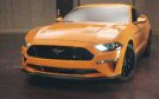 New Ford Mustang 2018 – умнее и мощнее